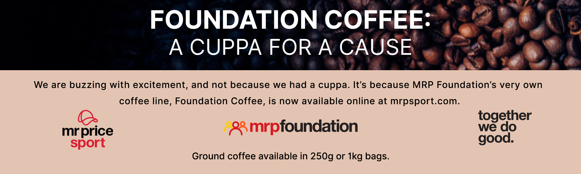 mrp sport coffee launch